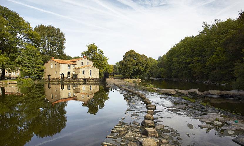 La Sèvre Nantaise et son moulin à eau da