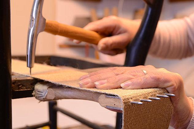 Restauration de fauteuil ancien