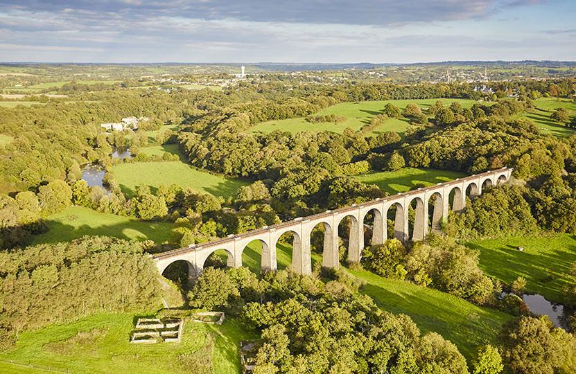 Chemin de fer de la Vendée dans le bocag