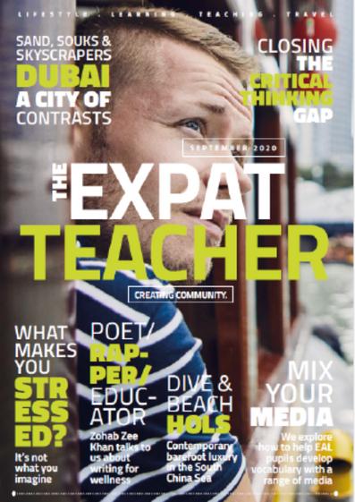 The Expat Teacher - Writing for Wellness