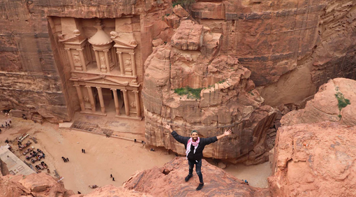 A life of travel looks awesome on Instagram but it can feel 'heavy' at times too