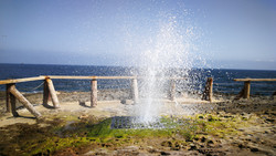Salalah Oman Geyser
