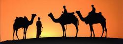 Sunset Desert Oman