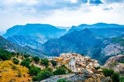 Jebel Akhdar Mountain Saiq plateau