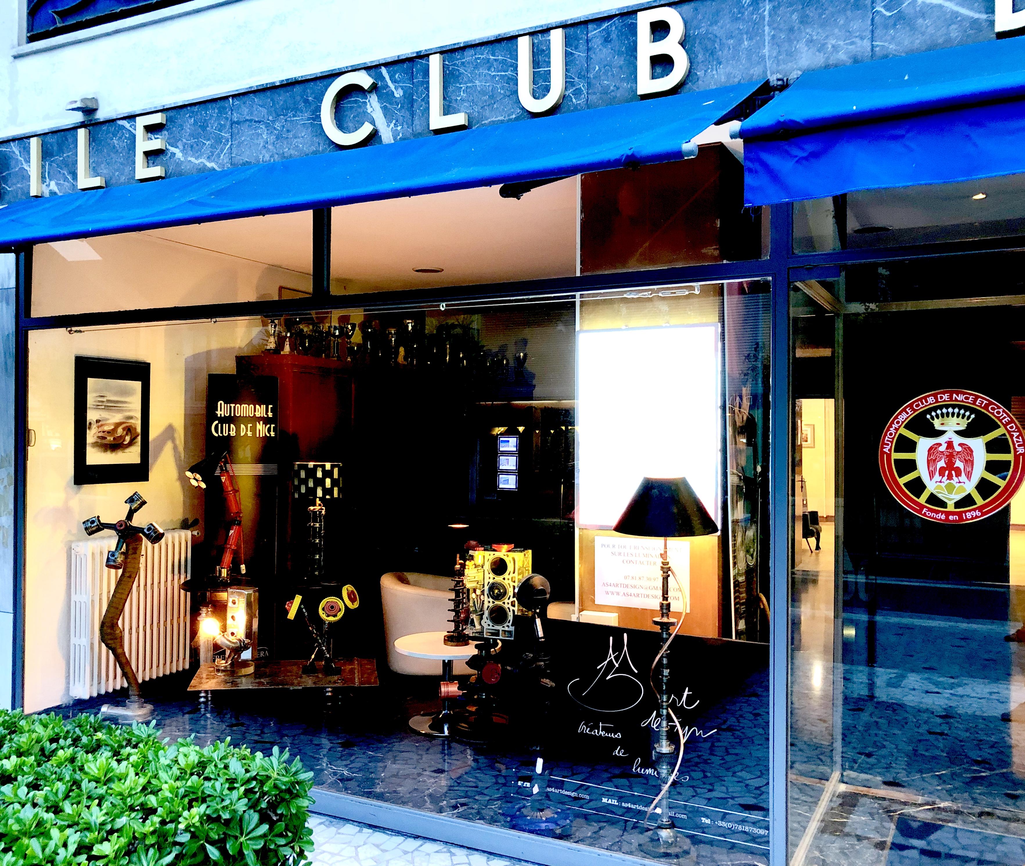 Exposition Automobile club de Nice