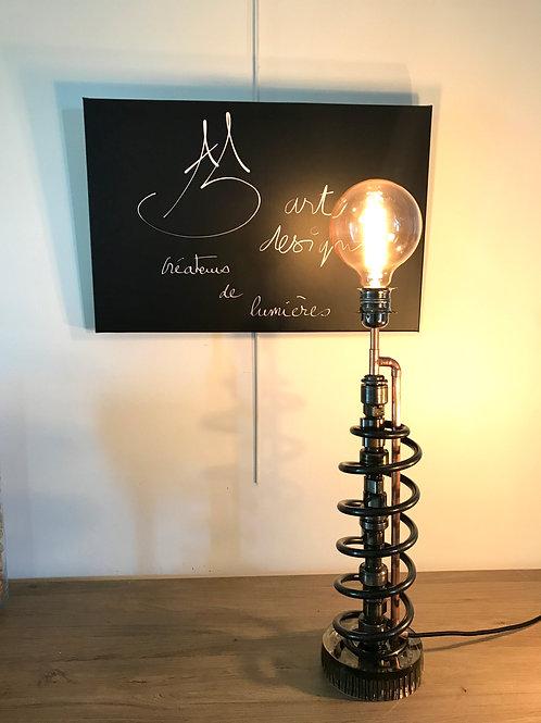 LAMPE ARBRE A CAME BRUT RESSORT