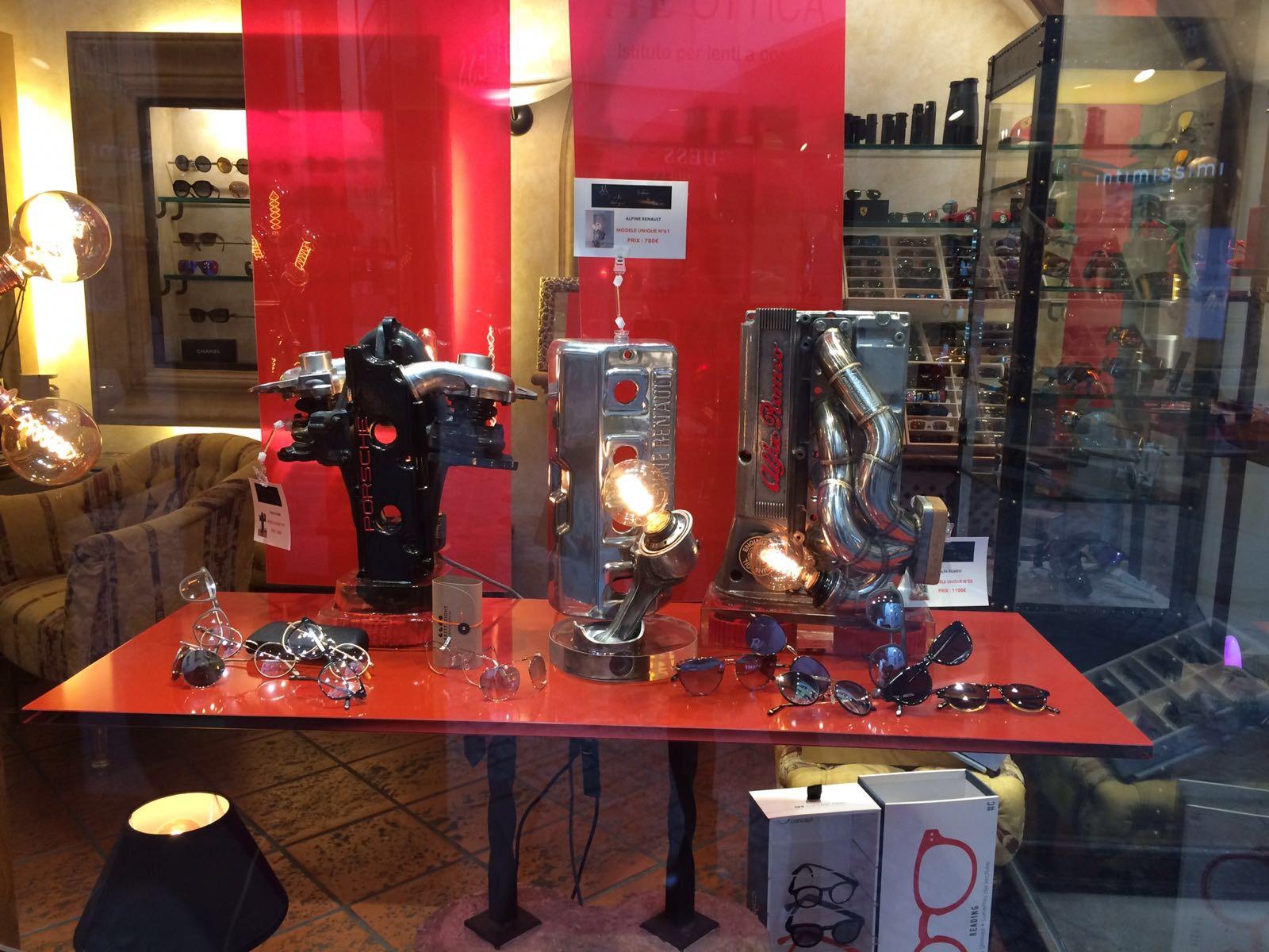 Exposition boutique Goette Lugano