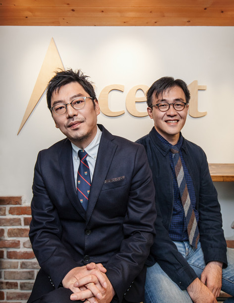 김지훈, 박세용 공동 대표이사, 어센트 코리아