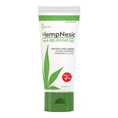 HEMPNESIC® PAIN RELIEVING GEL 8 OZ.