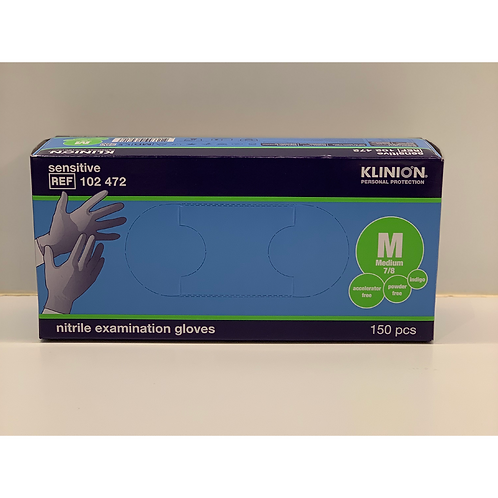 Handschoen nitrile - medium