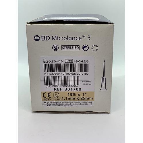 BD Microlance 3 naald 19G - Crème
