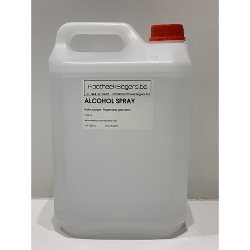 Alcohol spray 5 liter
