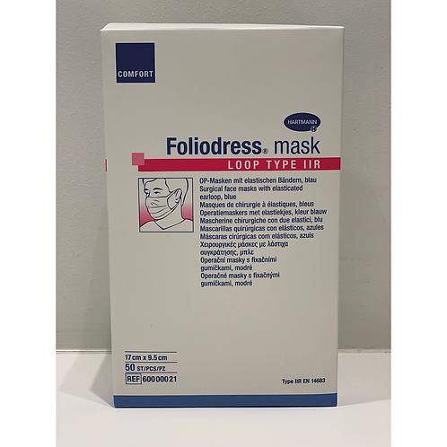 Medisch chirurgisch mondmasker Foliodress Loop Type IIR