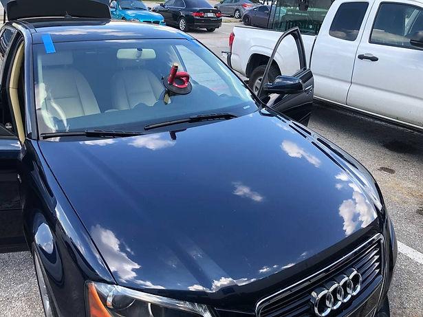 Audi windshield repair in Dallas