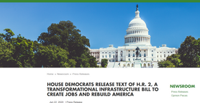 """Passed in House - $12Bil for NG911 -""""Moving Forward Act"""" H.R.2"""