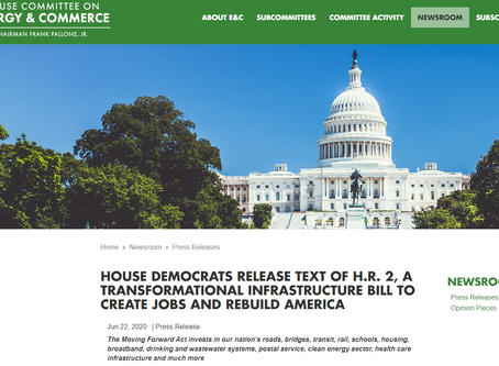 "Passed in House - $12Bil for NG911 -""Moving Forward Act"" H.R.2"