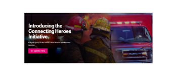 """T-Mobile Announces """"Connecting Heroes"""" - Free Public Safety Agency Mobile Service Program"""