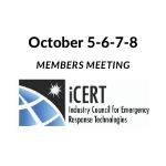 iCERT October 5-6-7-8, 2020 Annual Members Meeting