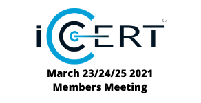 Record Attendance - iCERT March 2021 Members Meeting