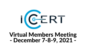 UPDATE - DATES CHANGING !  iCERT Virtual Event - Annual Meeting