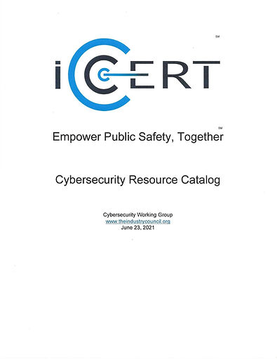 Cover Page Cybersecurity Catalog 2021_00