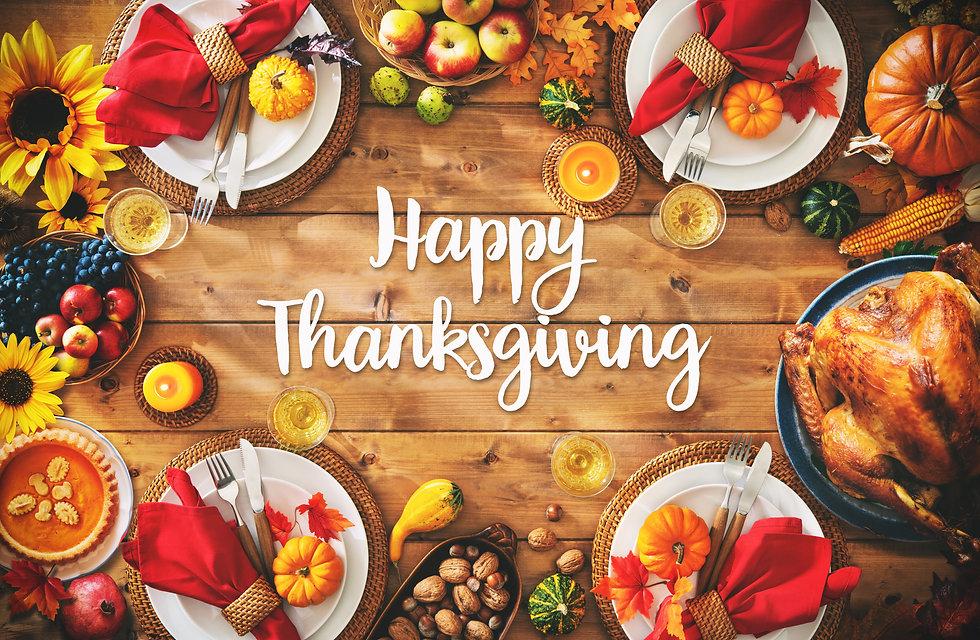 Thanksgiving celebration traditional din