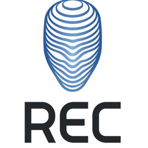 Пластик REC ABS 750 гр / 1,75 мм, цвета в ассортименте