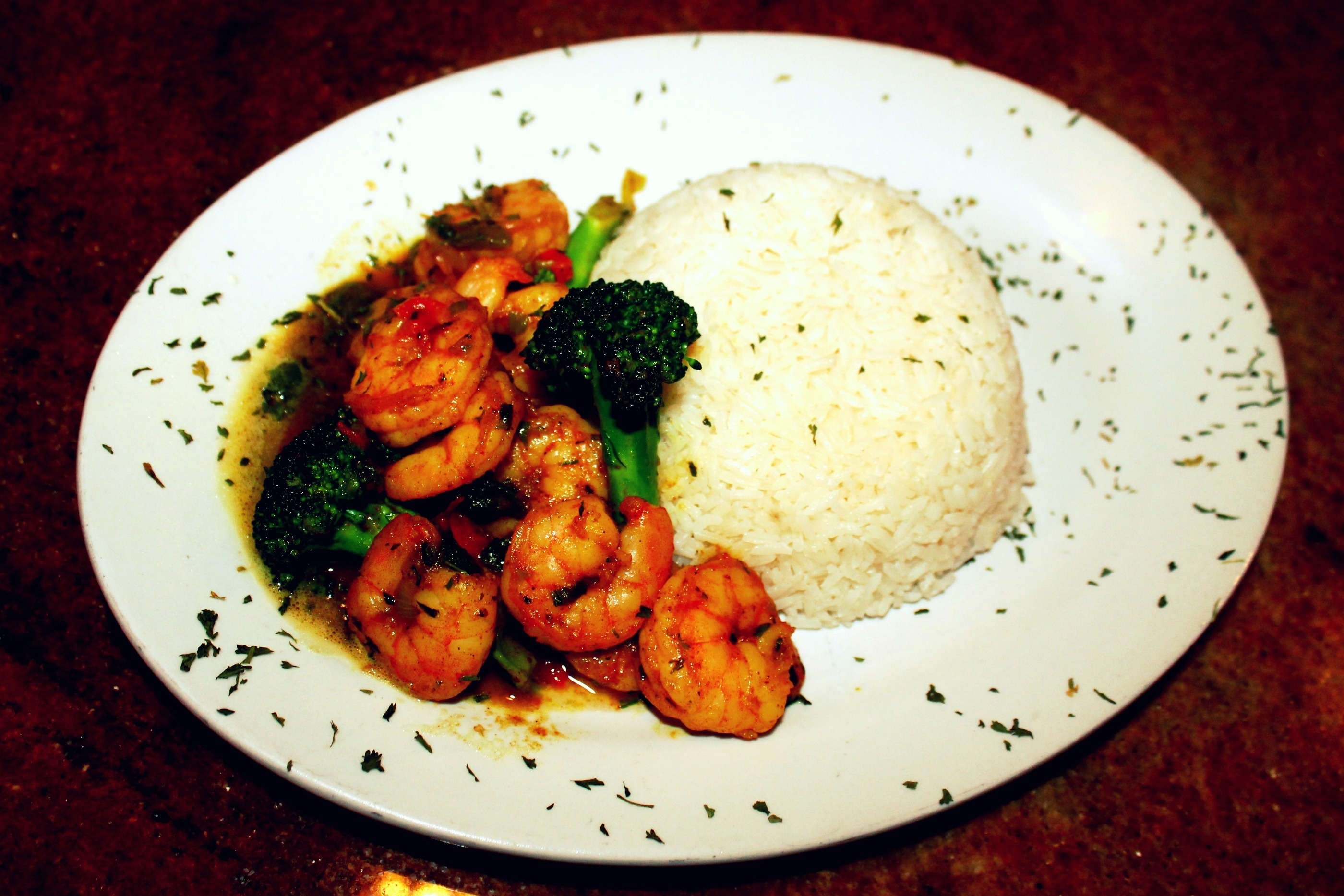 Shrimp with Rice Pic
