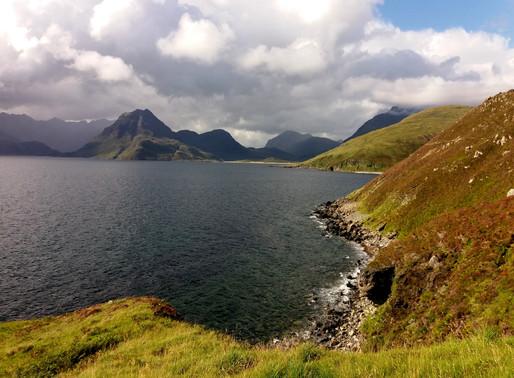 Isle of Skye v srpnu 1