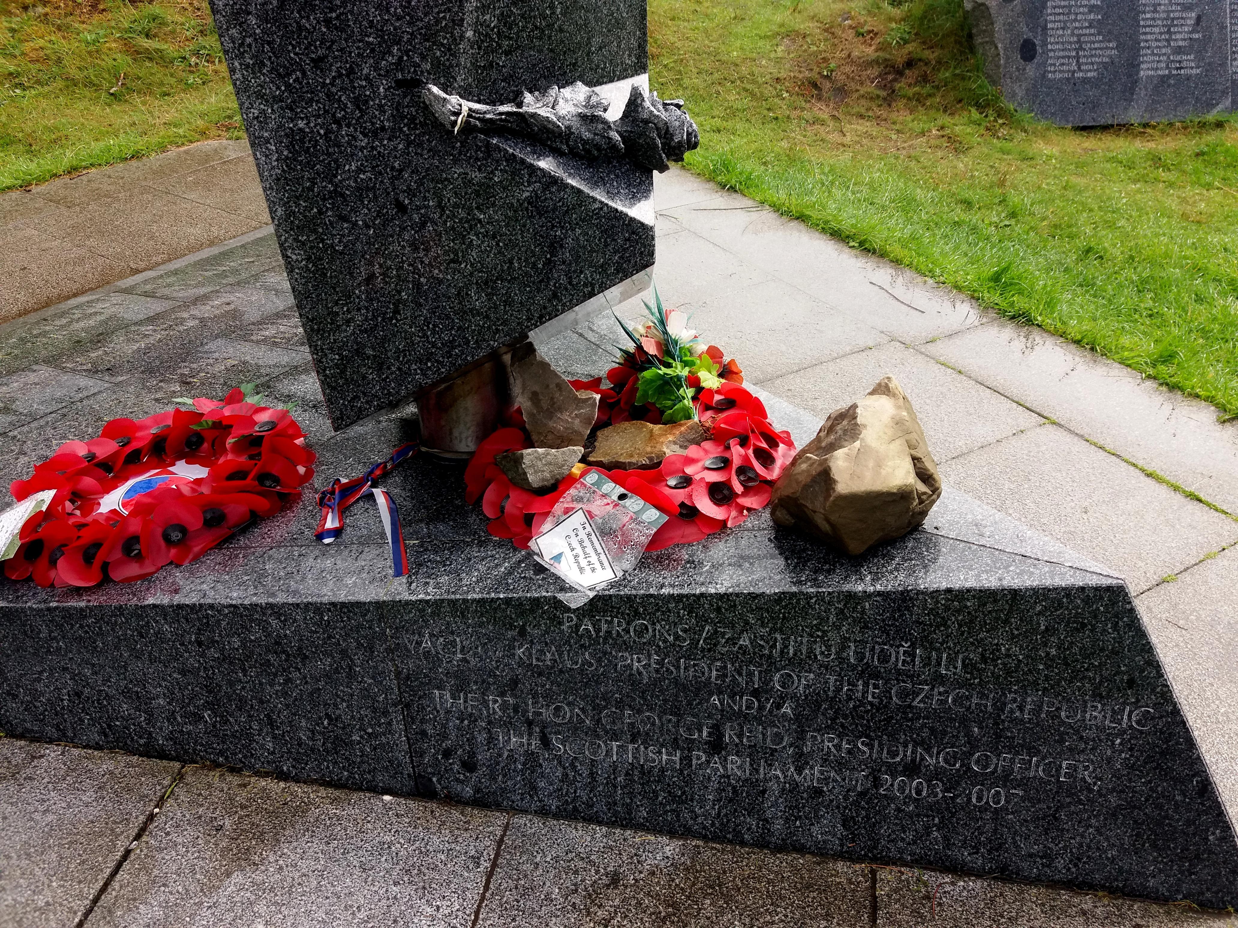 Vzpomínka na československý odboj