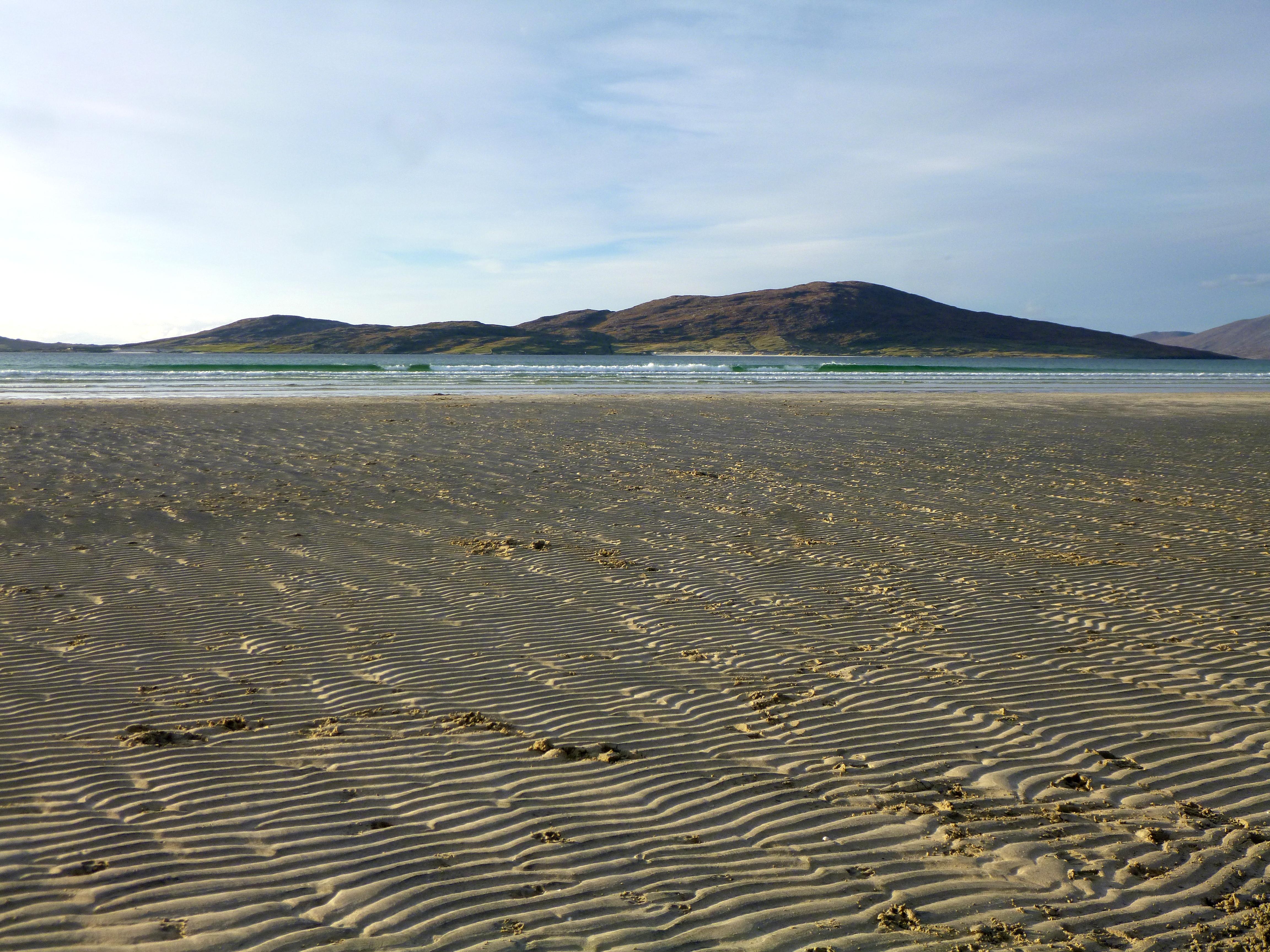 pláže na Harris