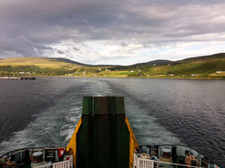 cestou na Vnější Hebridy