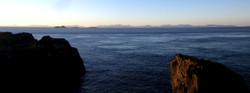 výhled na Vnější Hebridy