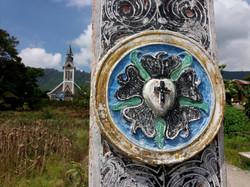 křesťanská kultura okolo Lake Toba