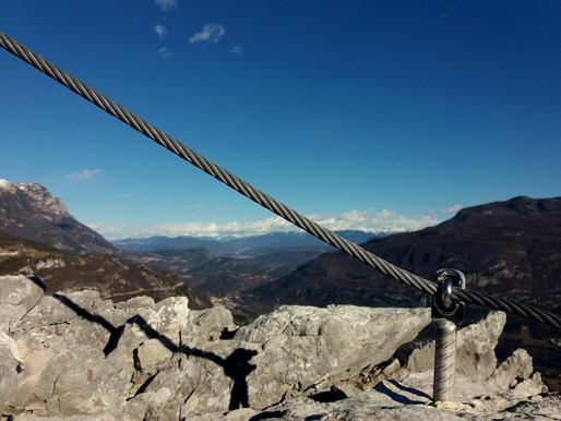 Ferraty okolo Lago di Garda