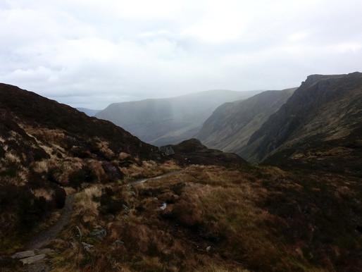Východní Cairngorms v zimě