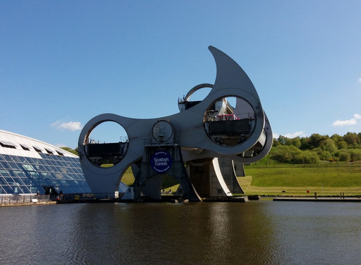 Vesnička Culross a Falkirk Wheel