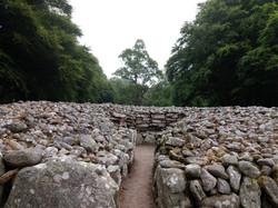 pohřební komory v Clava