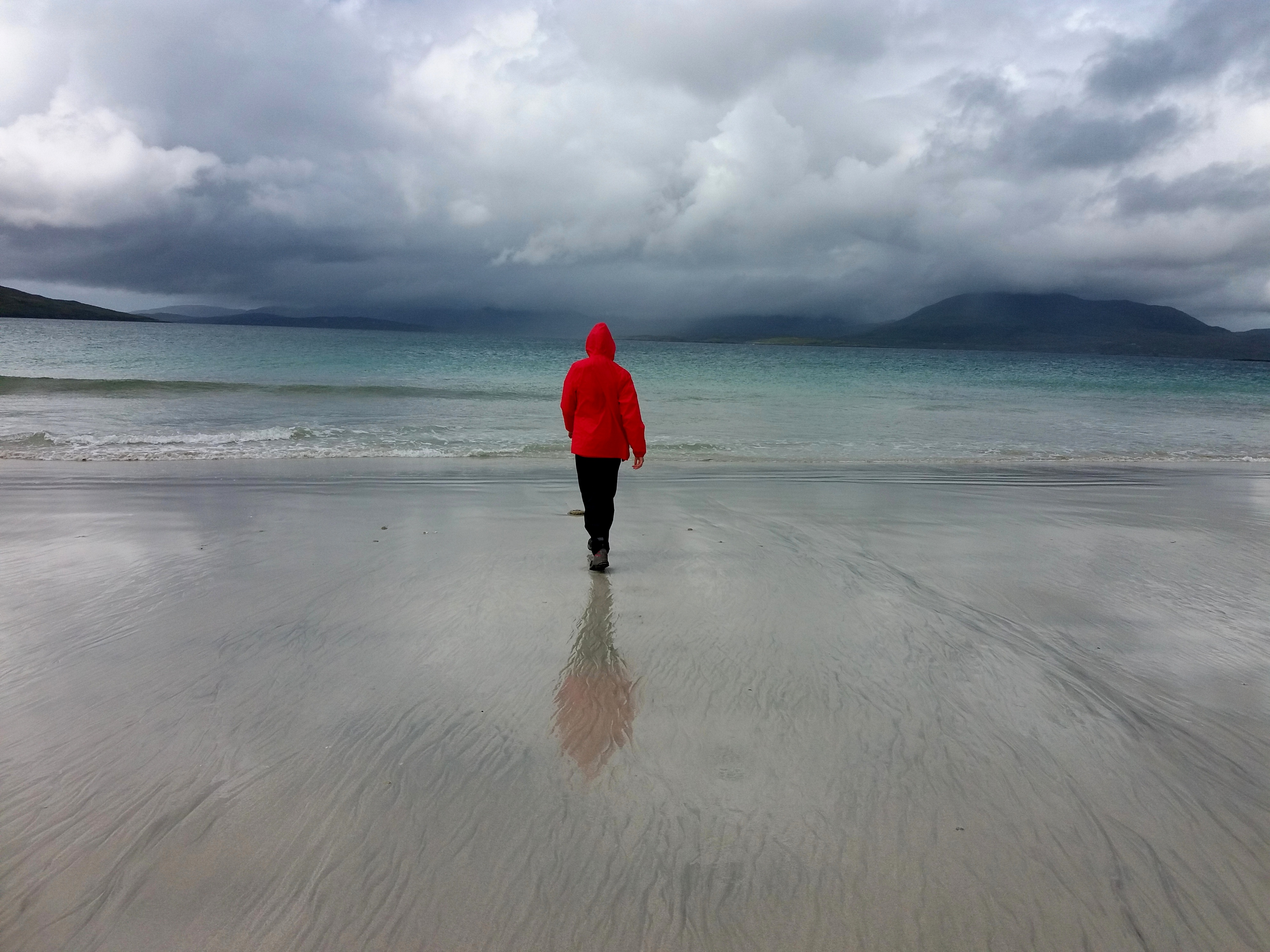 pláž okolo Luskentyre