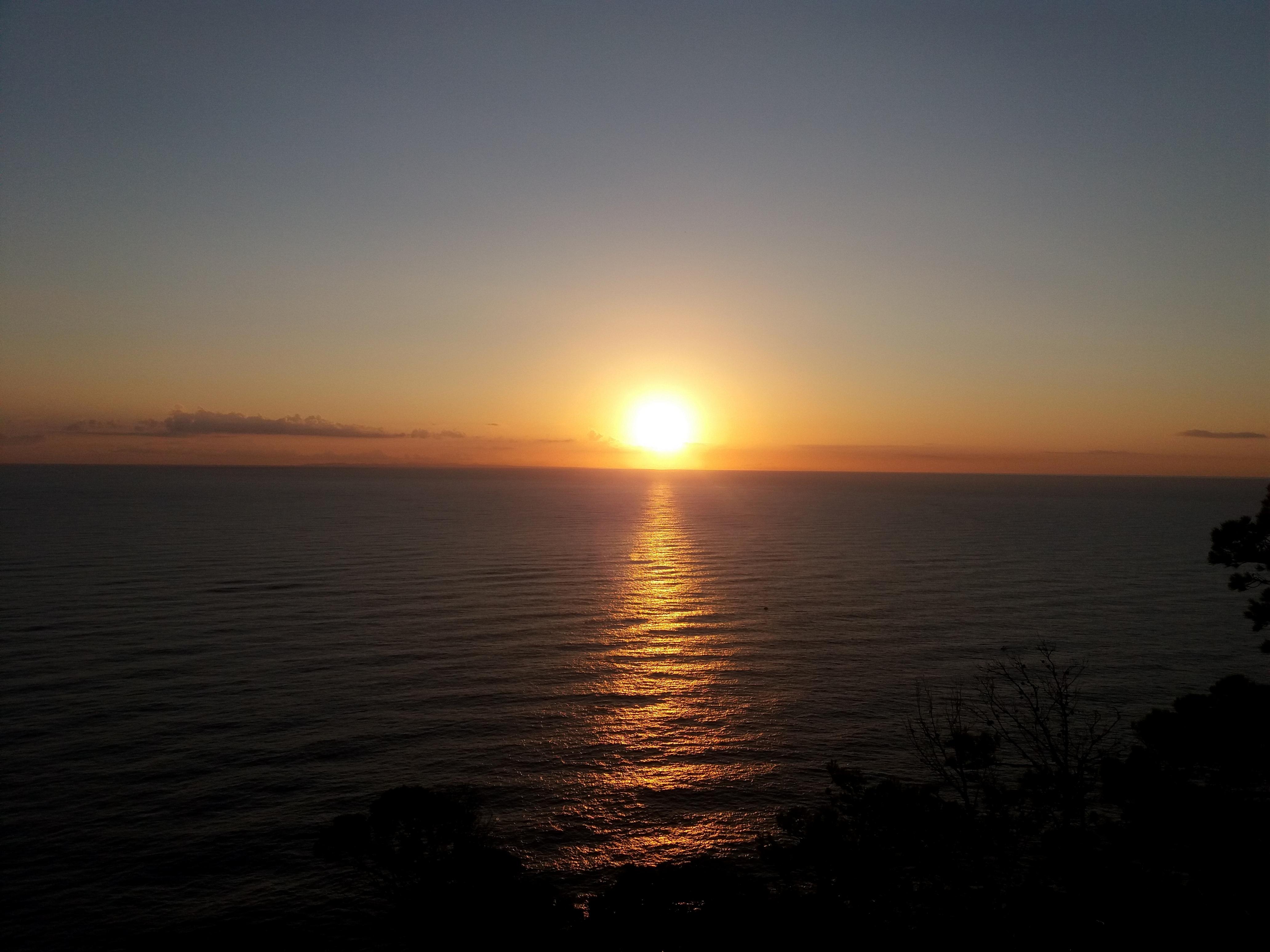 svítání na Formentoru