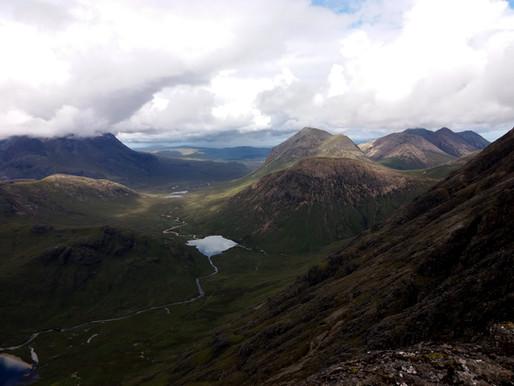 Isle of Skye v srpnu 2