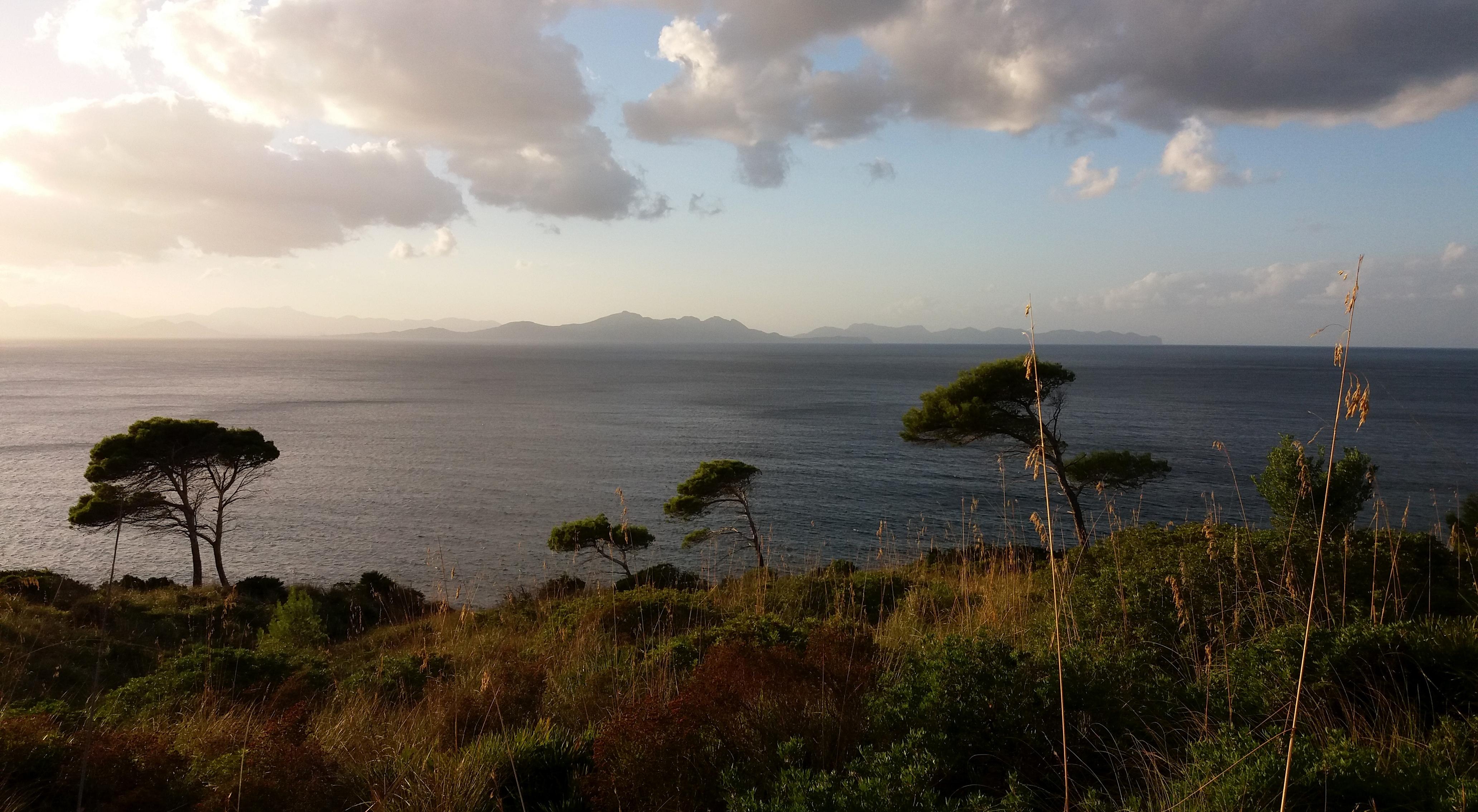 výhled na Formentor