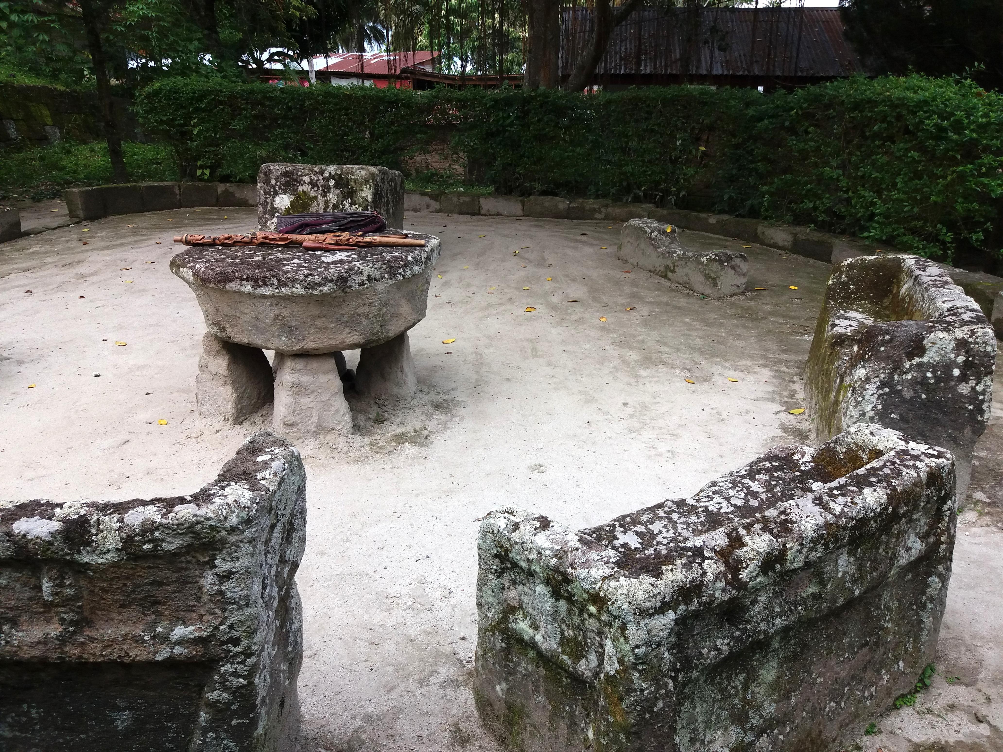 místo poprav, Batak kultura
