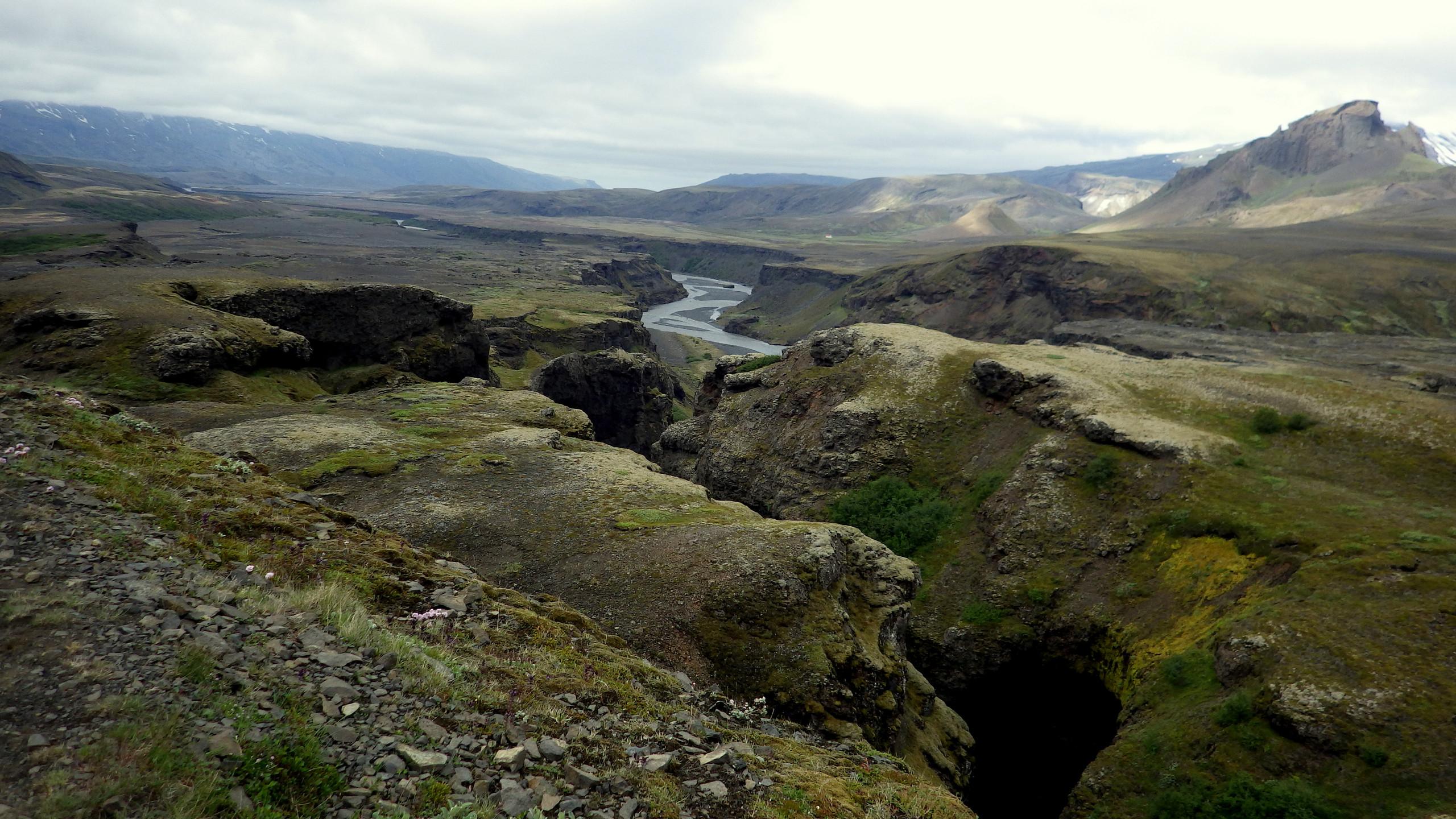 Cesta z Thorsmörk