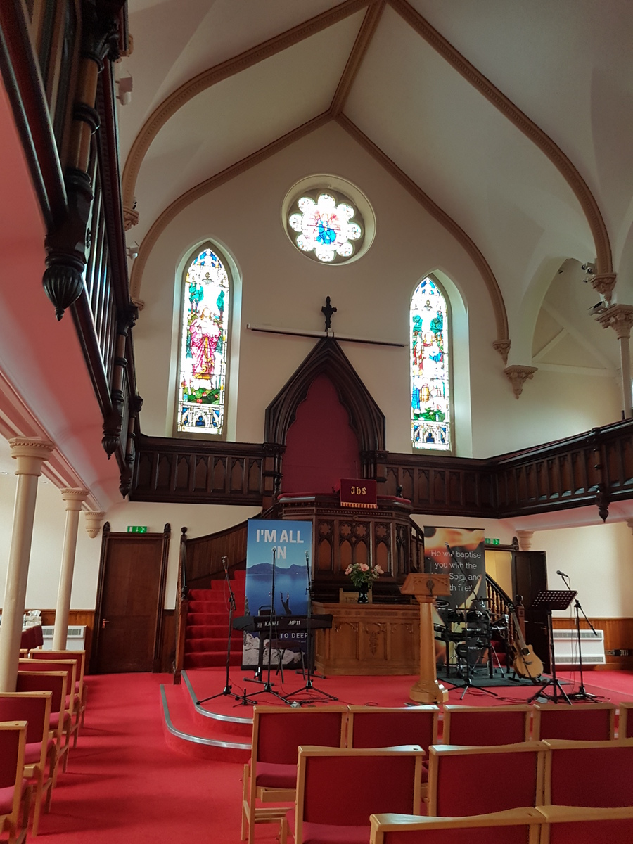 kostel ve Stornoway