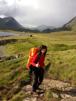 Isle of Skye v srpnu