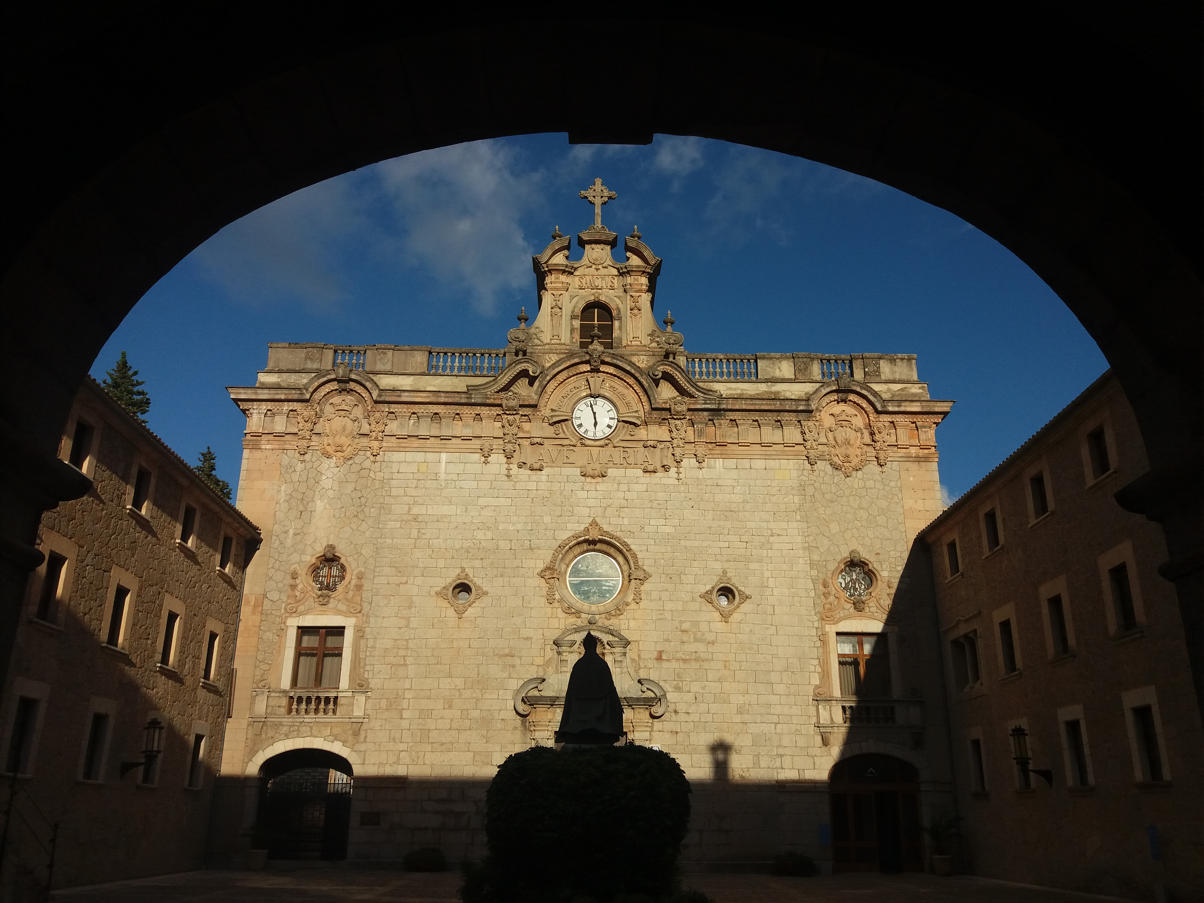 klášter v Lluc