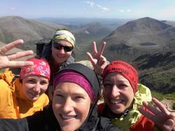 Braeriach 1296m, 3. nejvyšší hora UK