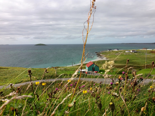 Vnější Hebridy v srpnu 4