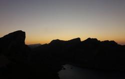 západ slunce na Formentoru